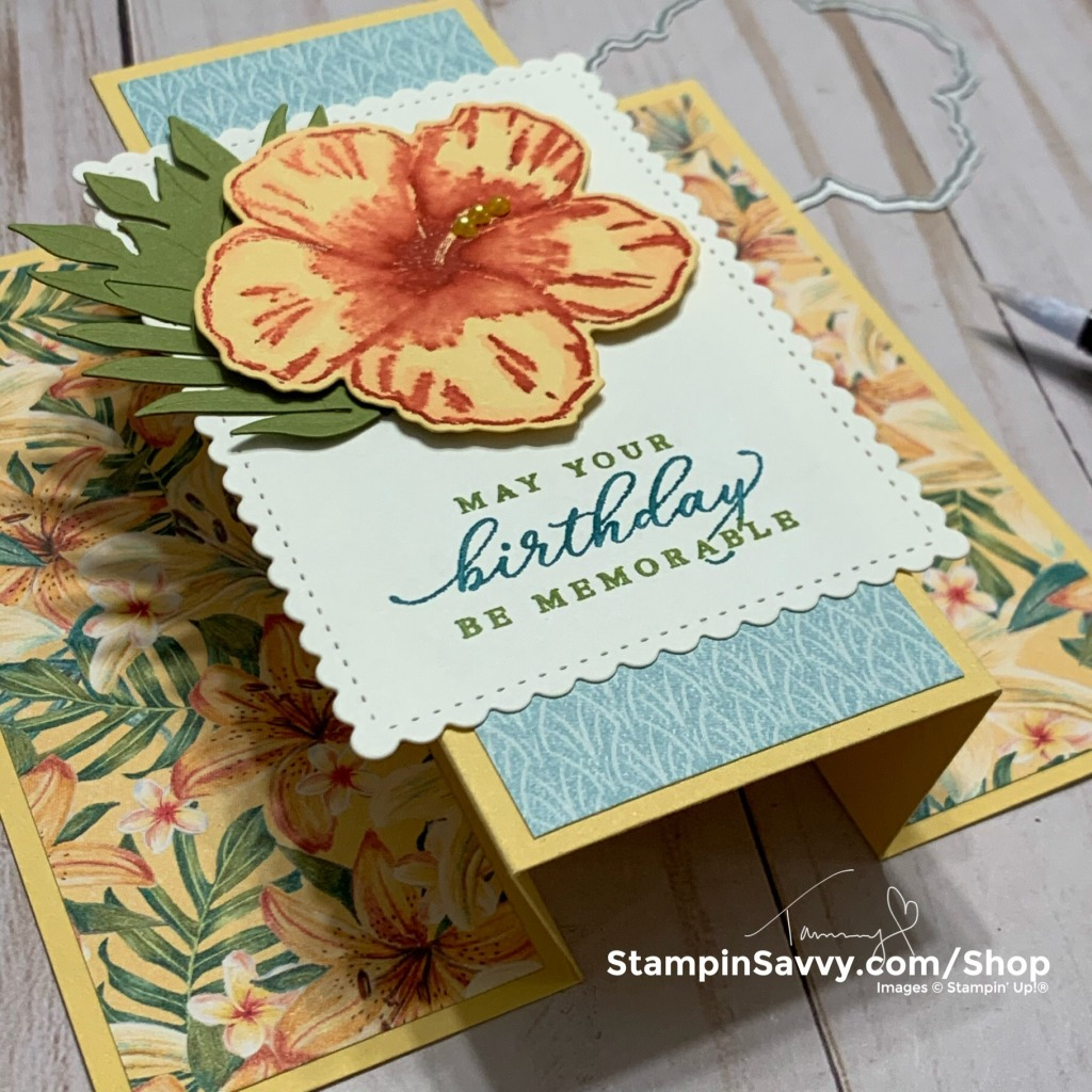 TROPICAL-FUN-FOLD-CARD-TAMMY-BEARD-STAMPIN-SAVVY-1