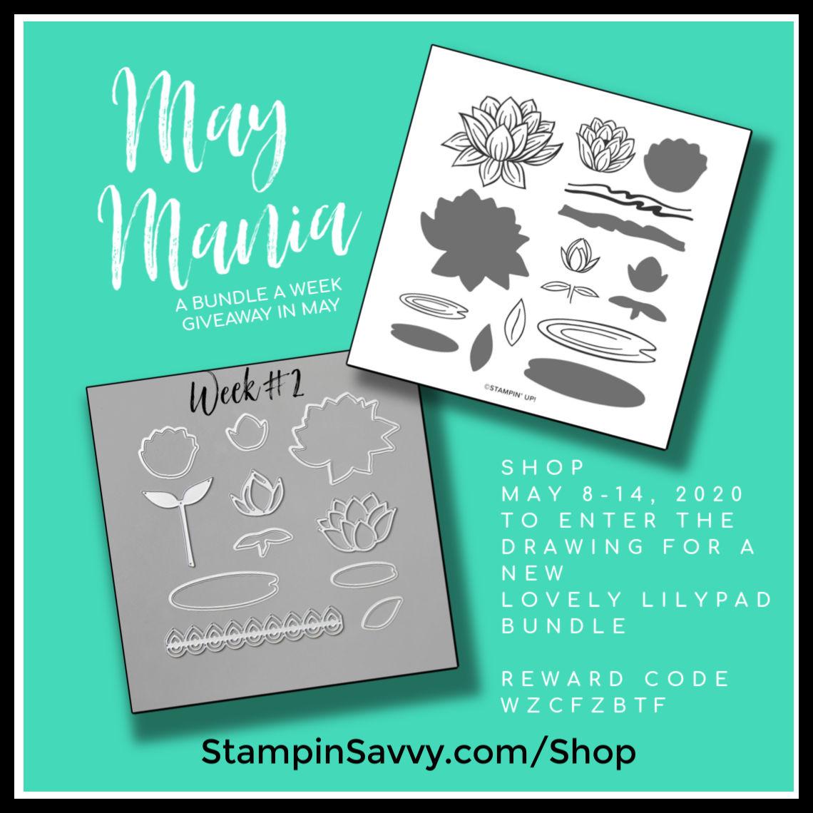 May 2020 Bundle GiveAway Week2 Lovely Lilypad Bundle