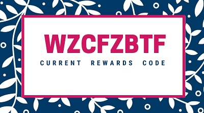 MAY 2020 REWARD CODE WZCFZBTF