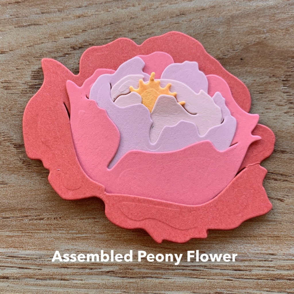 ASSEMBLED PRIZED PEONY FLOWER